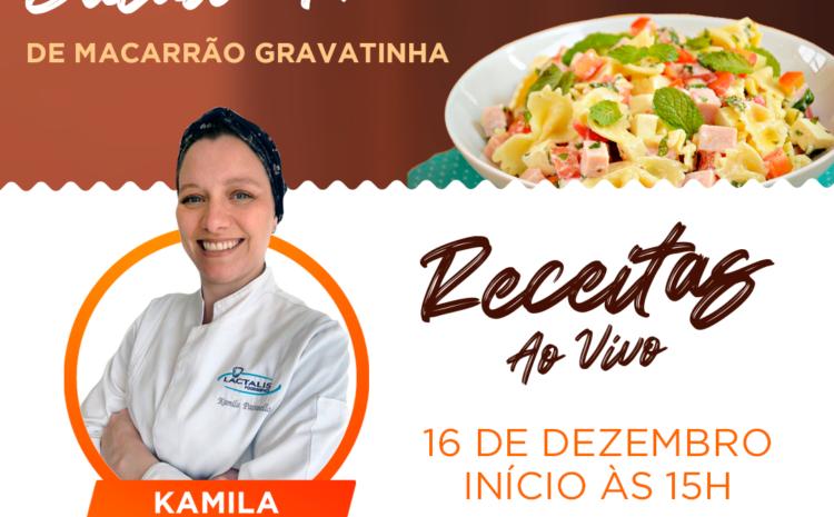 Salada Fria de Macarrão Gravatinha