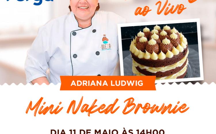 Mini Naked Brownie